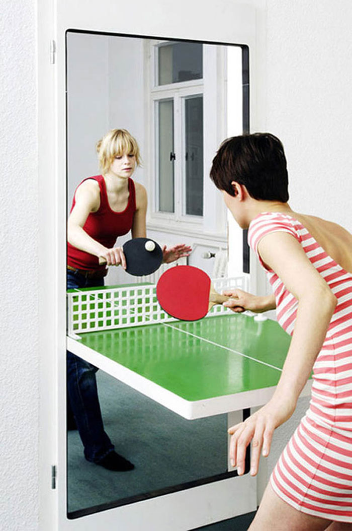Furniture Design Ideas - Ping Pong table door