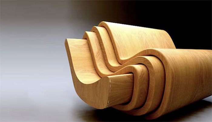 Innovative Furniture Design - Four chairs in one