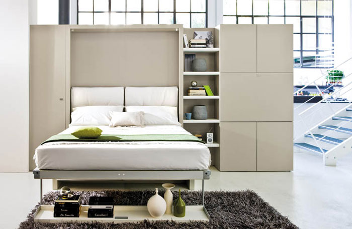 Creative Furniture Designs - Wall bed and sofa