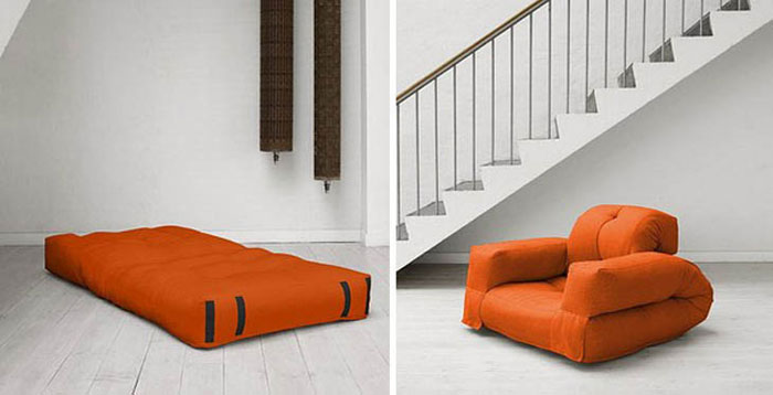Innovative Furniture Design - Combined mattress seat