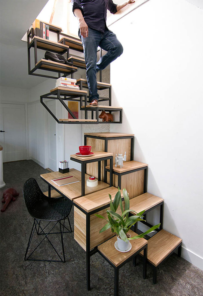 Creative Furniture Designs - Stairs with storage