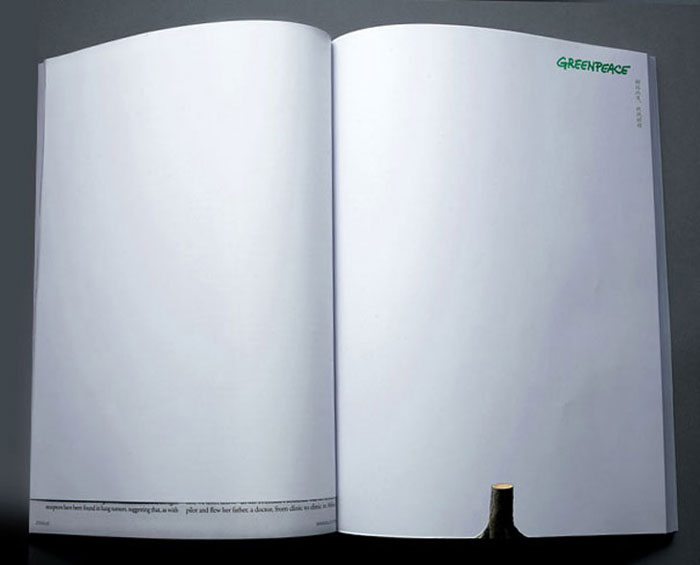Innovative Magazine Ads