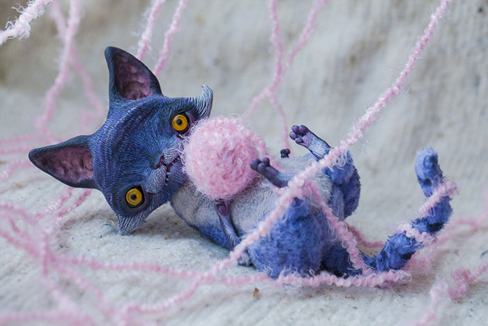 Cute Clay Toys - Cheshire Cat