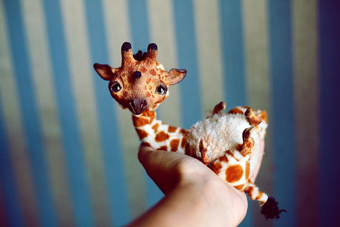 Cute Clay Models - Giraffe