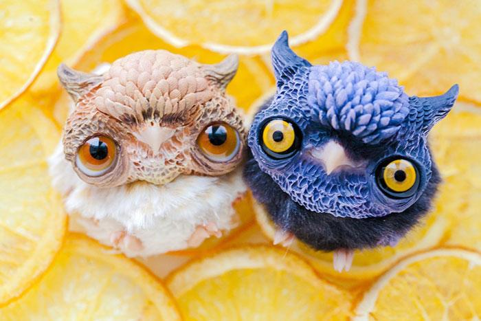 Cute Clay Toys - Momoko & Goodnight