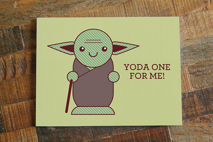 Valentine's Day Card Messages - Yoda one for me
