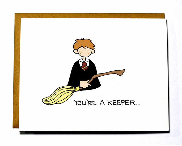 Valentine's Day Card Messages - You're a keeper