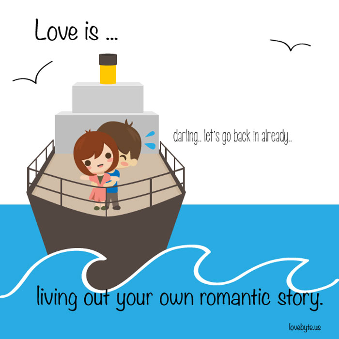 What Is The Definition of True Love? Love is... living out your own romantic story