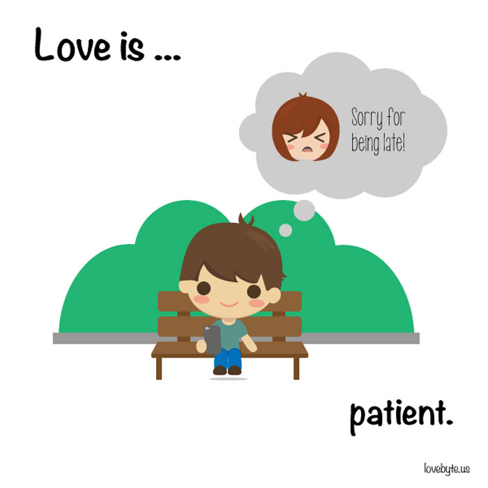 What Is Real Love? Love is... patient