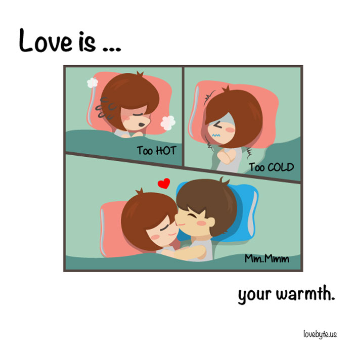 What Is Real Love? Love is... your warmth