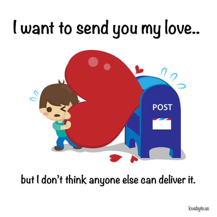 What Is The Definition of True Love? I want to send you mmy love..but don't think anyone else can deliver it