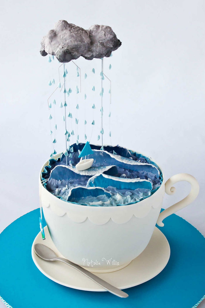 Cake Ideas - Boat in a Cup Cake