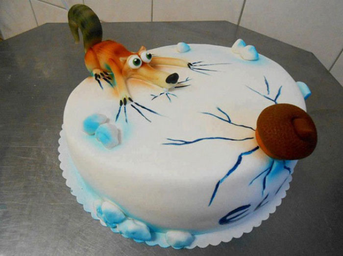 Cake Ideas - Ice Age Cake
