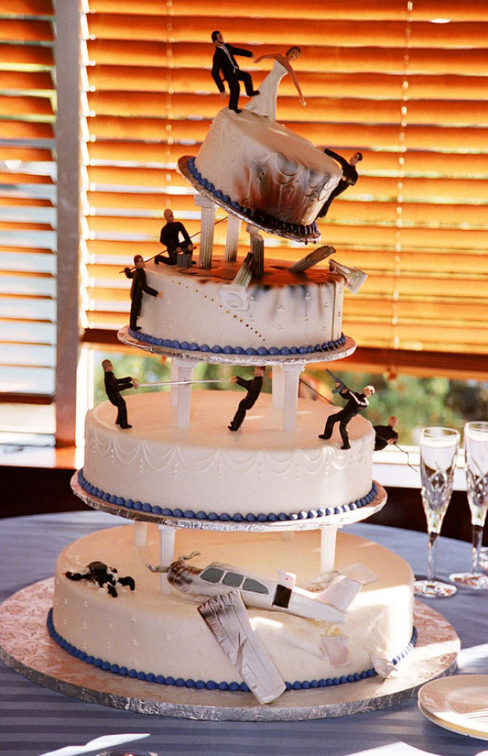 Amazing Cakes - James Bond Cake