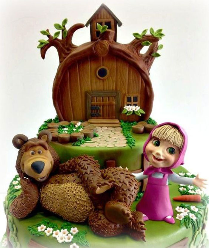 Cake Ideas - Masha and The Bear