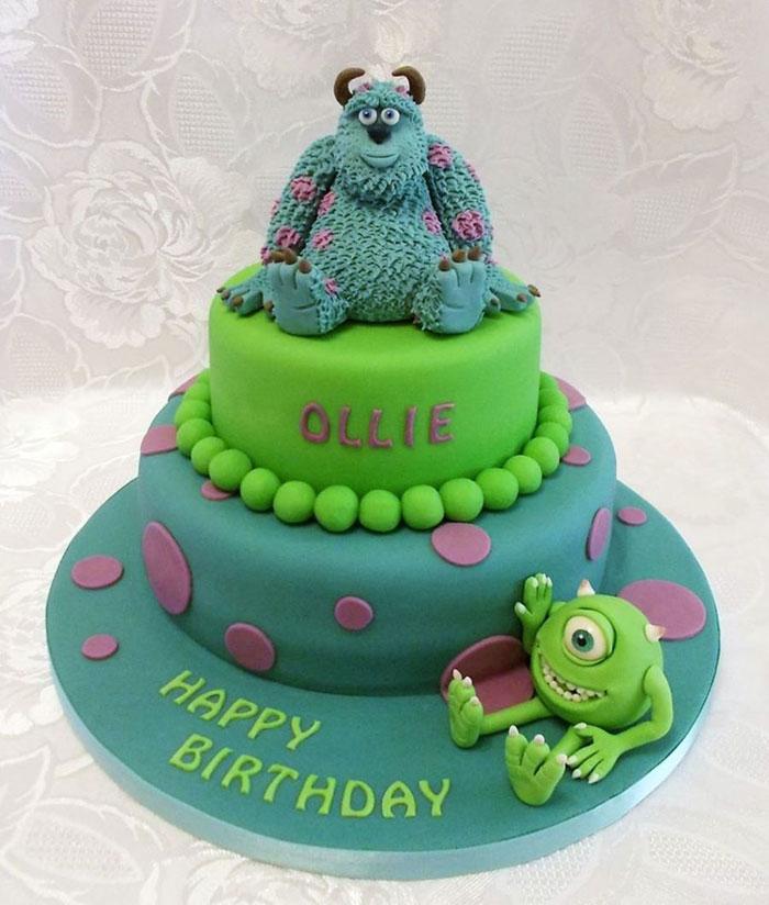 Cake Decorating Ideas - Monsters Cake
