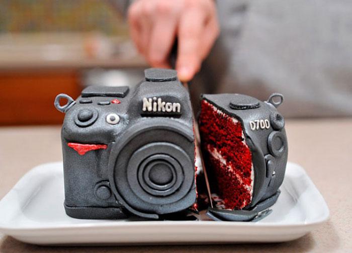 Amazing Cakes - Nikon Camera Cake