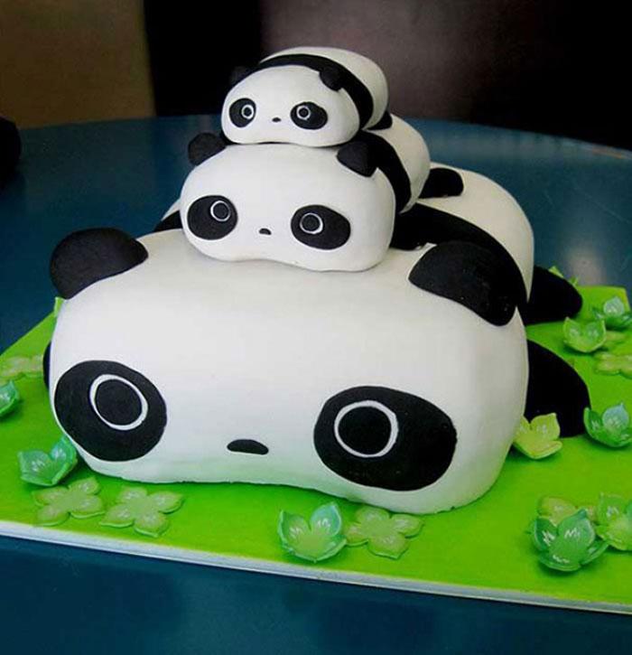 Cake Ideas - Pandas Cake