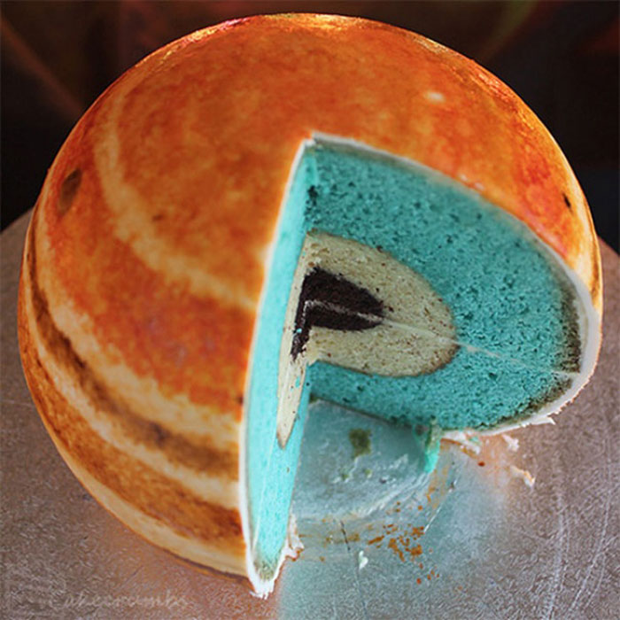 Awesome Cakes - Planet Cake