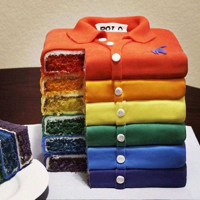 Cool Cakes - Polo Shirts Cake