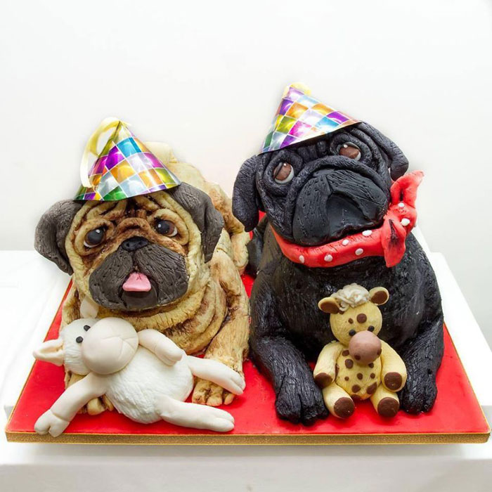 Cake Ideas - Pug Cake