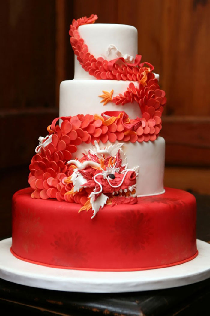 Amazing Cakes - Red dragon Cake