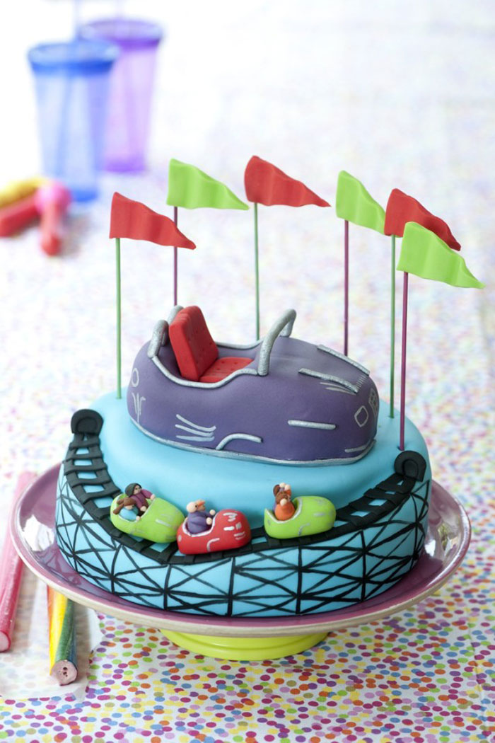 Awesome Cakes - Roller Coaster Cake