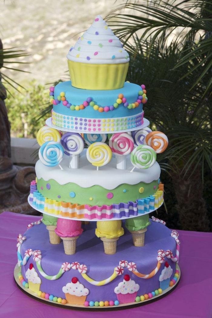 Amazing Cakes - Sweet Treat Cake