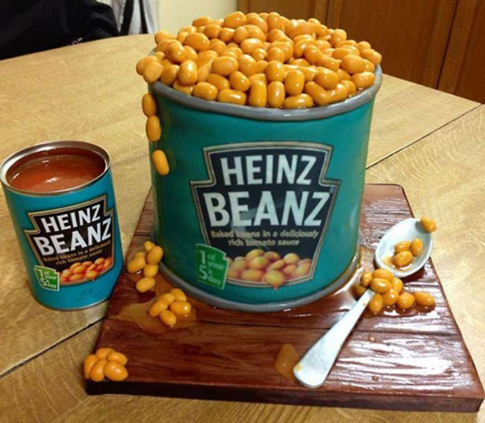 Cake Decorating Ideas - The Heinz Cake