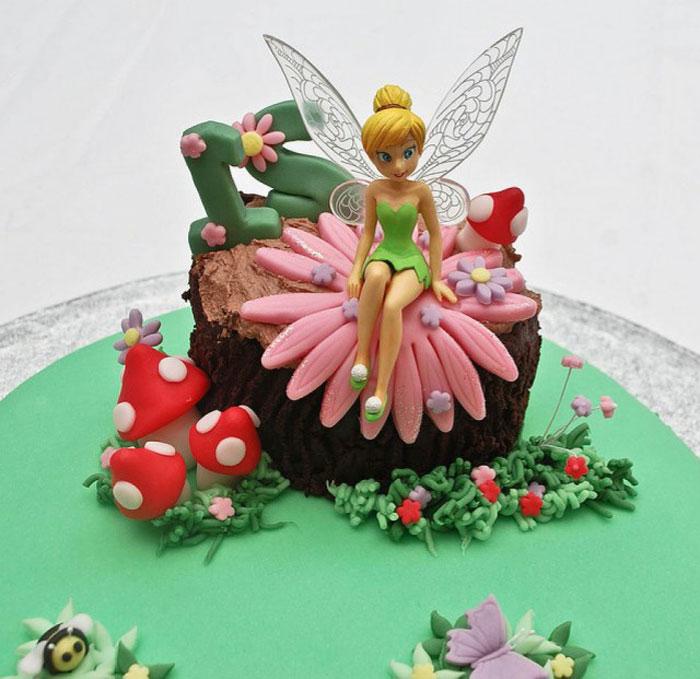 Cake Ideas - Tinker Bell Cake