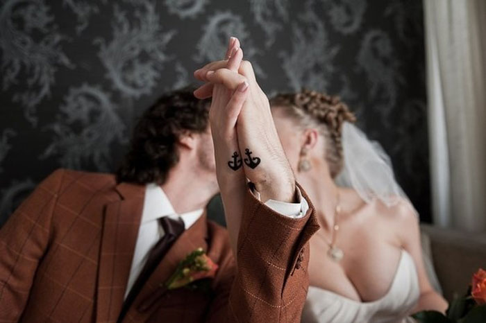 Matching Couple Tattoos - Forever Together