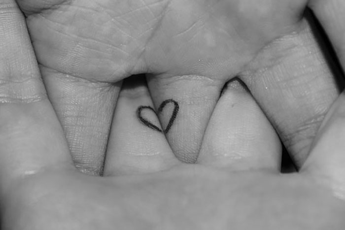 Tattoos for Couples - Heart