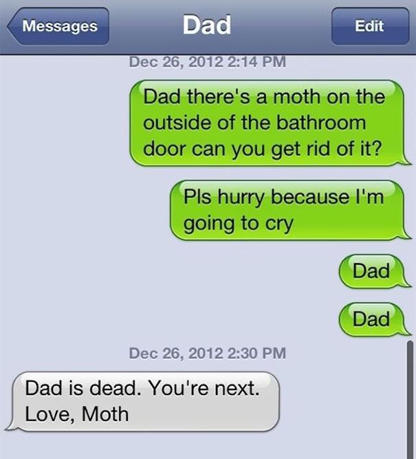 Hilarious Text Messages