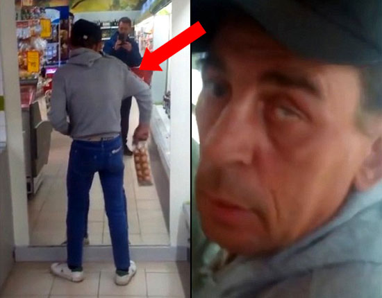Watch What This Drunk Guy Does in Grocery Store. It's Super Hilarious