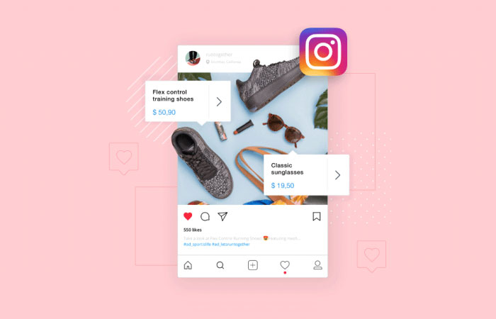 Selling physical products on Instagram