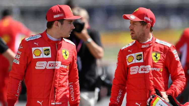 Charles Leclerc è passato dalla Sauber alla Ferrari nel 2019, trovando come compagno di squadra il pluricampione del mondo Sebastian Vettel..