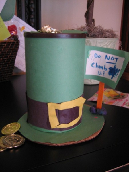 St. Patrick's Day Leprechaun Trick's - Easy and fun ideas