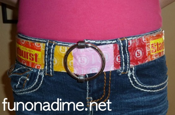Recycled Belt - how to