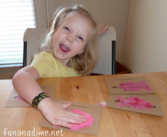 Painting Valentine's Day Cards