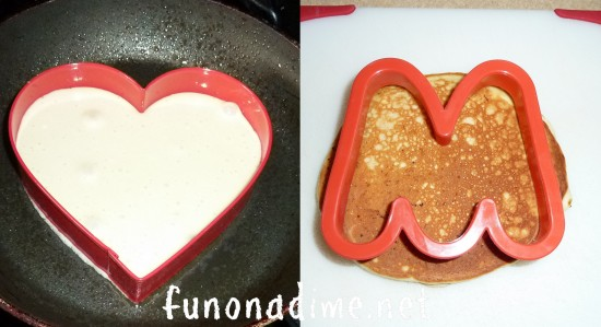 Cookie Cutter Pancakes