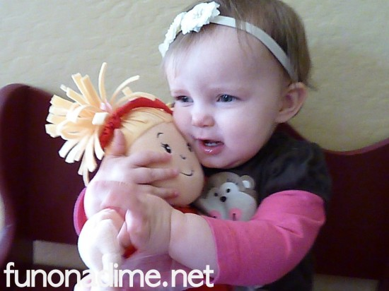 Baby's first baby doll