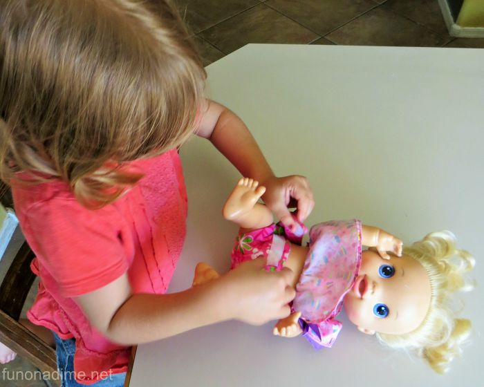 handmade baby doll diapers