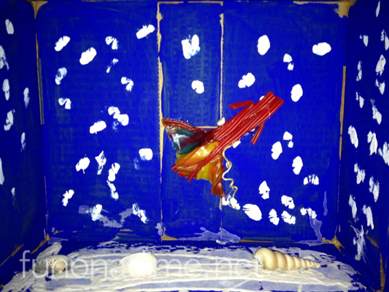 Making a Diorama – Vampire Squid