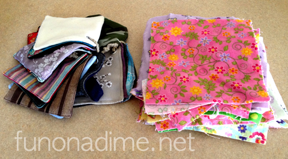 Activities for Scrap Fabric