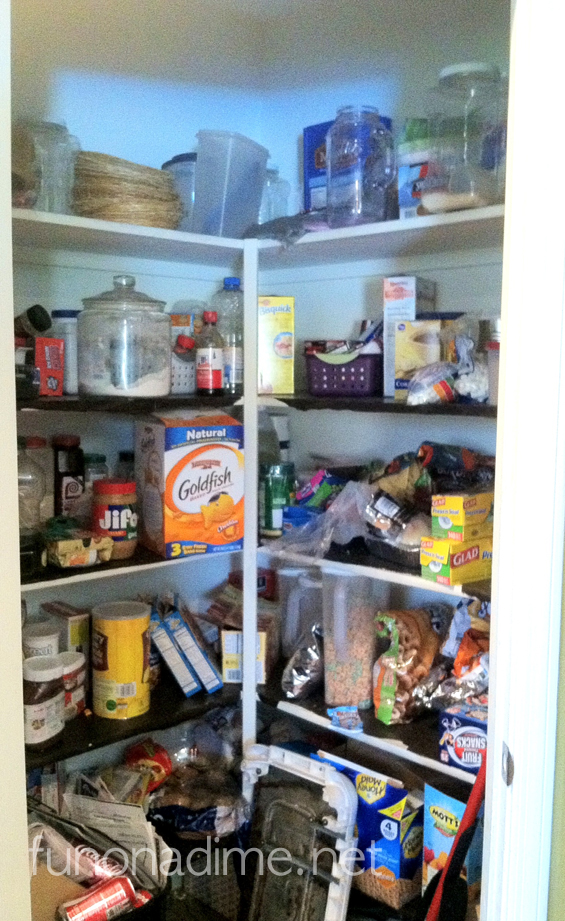 Pantry makeover - before