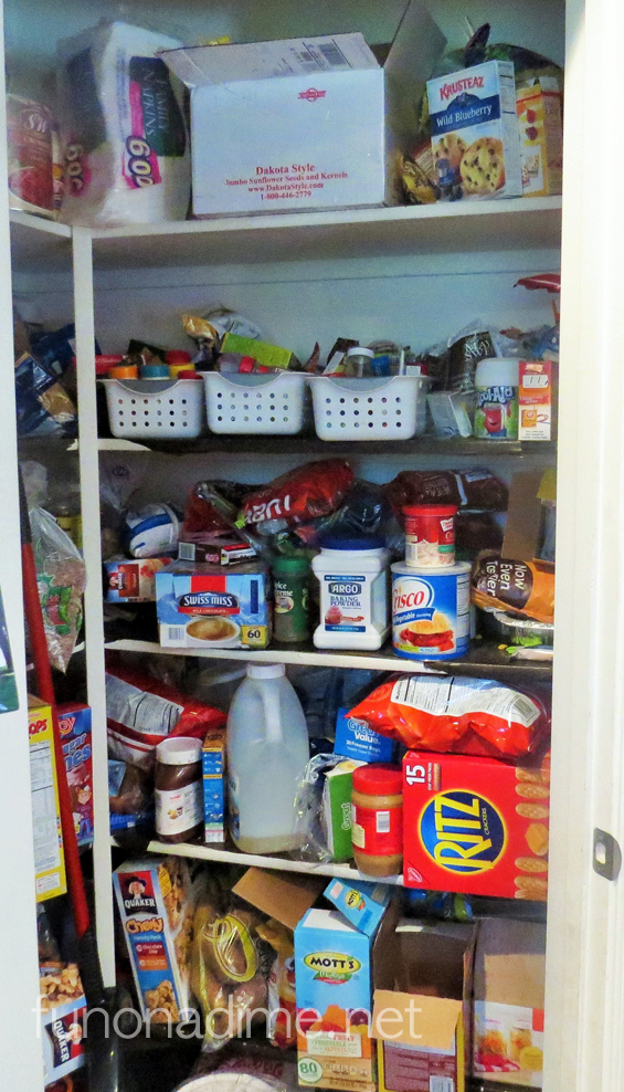 pantry reorganizing tips