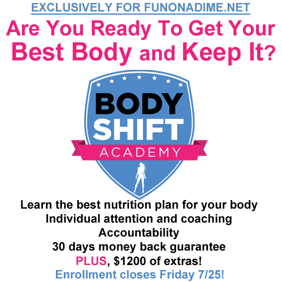 Body Shift Exclusive for Fun On a DimeShift My Body