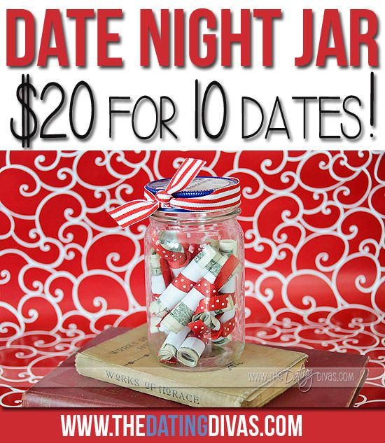 Date night jar/Dating divas