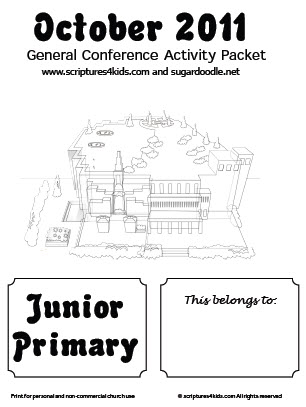 Fun Coloring Activities for General Conference. General Authorities may need to be updated for one of the activities, but it is still fun!