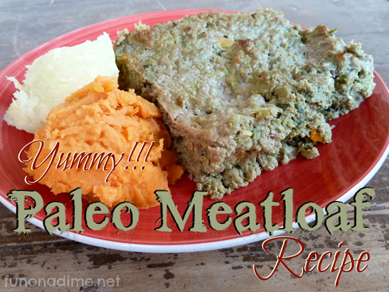 Yummy Meatloaf Recipe - Paleo that the kids will love